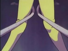 Wild anime with long palps sliding in innocent peach