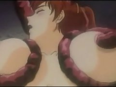 school girl gets exposed to probing tentacles