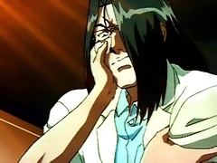 Integra Hellsing gets brutal treatment and squirts cum